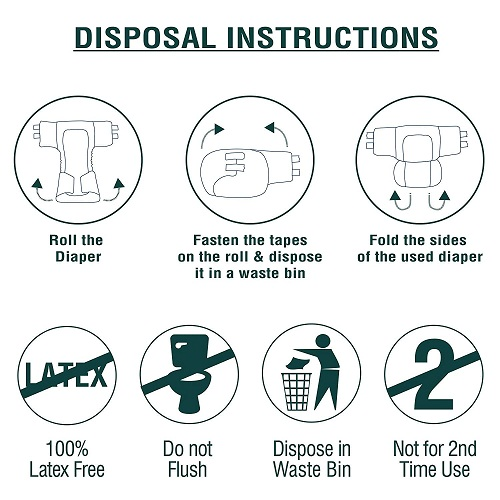 adult diapers disposable use technology